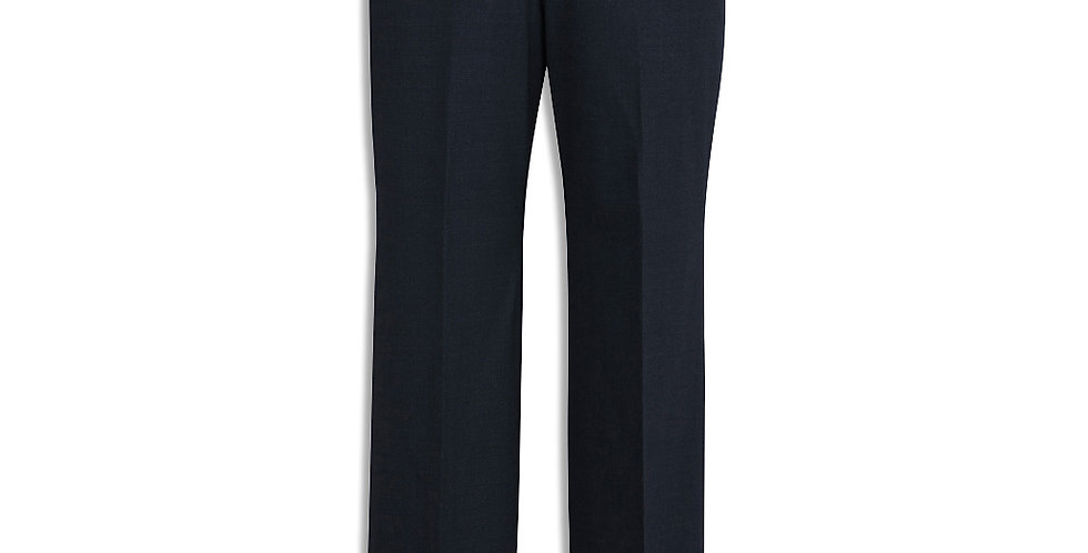 Mens Comfort Wool Stretch Flat Front Pant