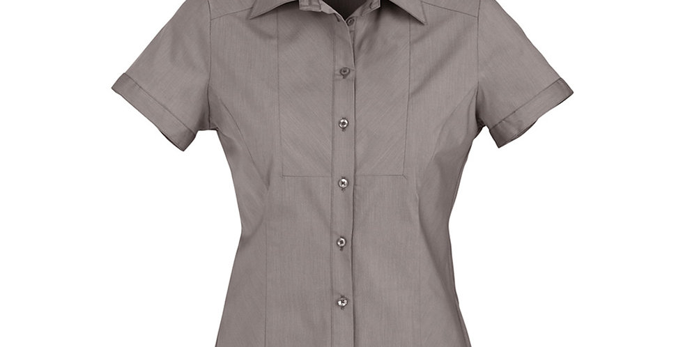 Ladies Chevron S/S Shirt