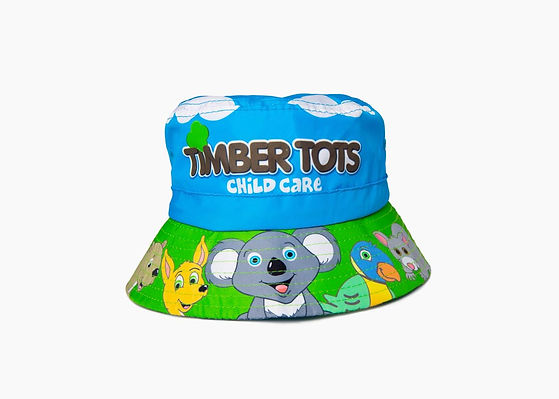 timber-tots-custom-bucket-hats-childcare