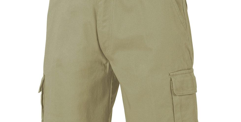 Mens Cotton Drill Cargo Shorts