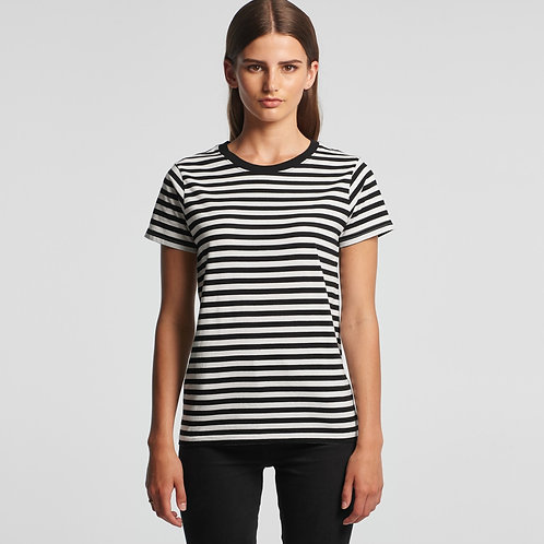 Ladies Maple Stripe Tee