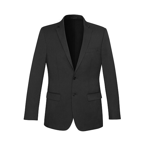 Mens Cool Stretch Suiting  Slimline Suiting Jacket