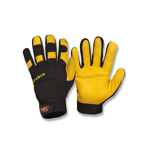 Unisex Cobra Leather Glove
