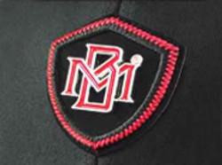 TPU metal badge applique