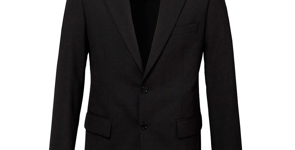 Mens Comfort Wool Stretch Suiting  2 Button Suiting Jacket