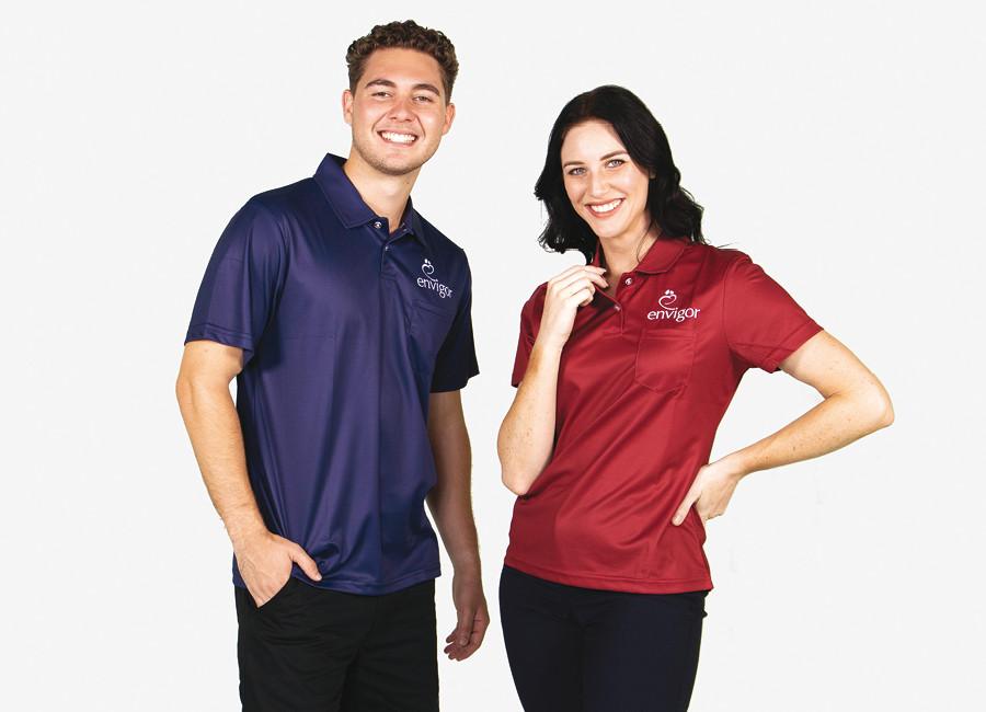 Envigor custom uniforms