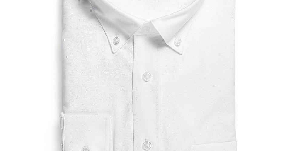 Ladies Ultimate White Long Sleeve Shirt