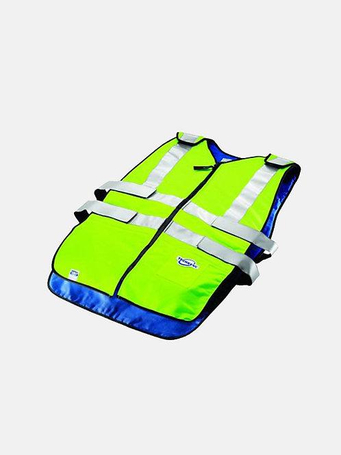 Phase Change Traffic Safety Hi-Vis Cooling Vest