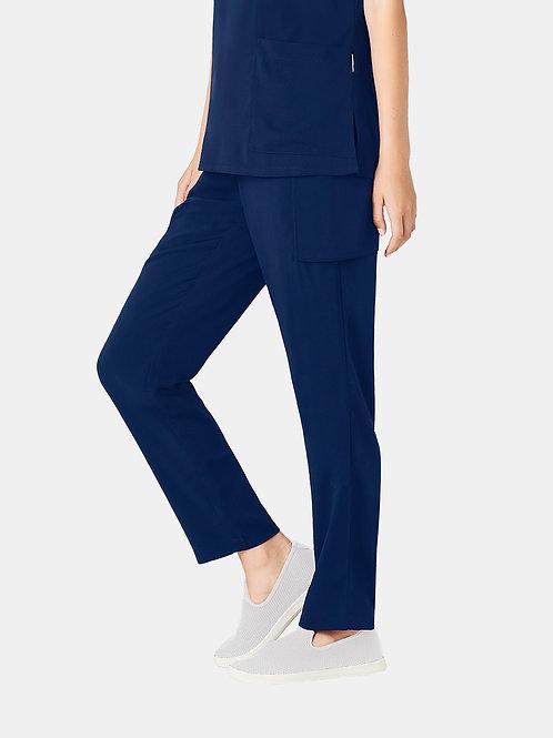 Ladies Multi-Pocket Slim Leg Pant