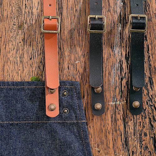 PVC Leather Bib Neck Straps