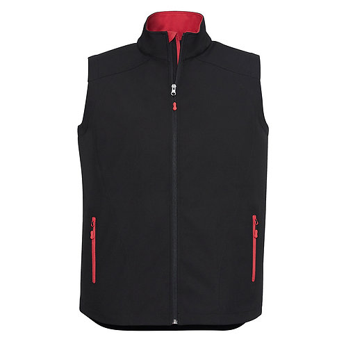 Mens Breathable Geneva Softshell Vest