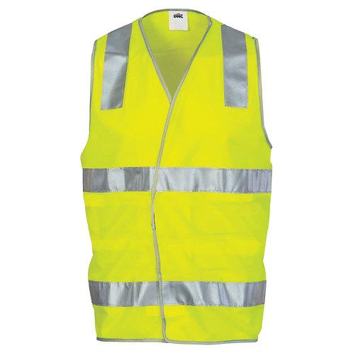 Hi-Vis Day/Night Safety Vest with Hoop Tape