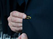 Contrast buttonhole stitching