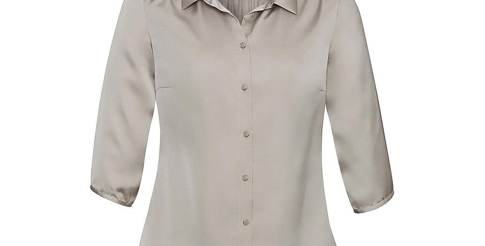 Ladies Shimmer 3/4 Sleeve Fashion Blouse