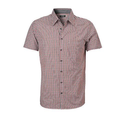 Mens Hudson Short Sleeve Check Shirt