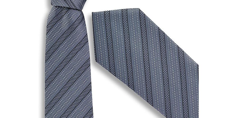 Mens Self Stripe Tie