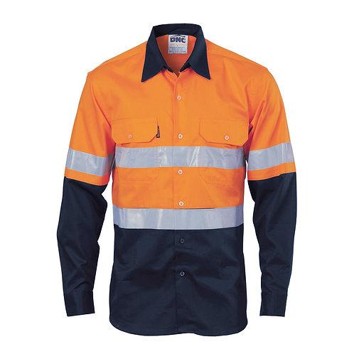 Mens Day/Night HiVis Cool Breeze Mesh Vented Shirt