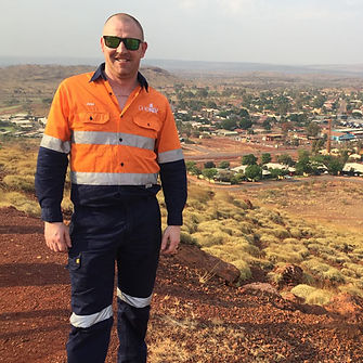 man in onekey mining uniforms by total unifom solutions