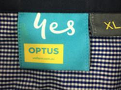 Sublimated garment label