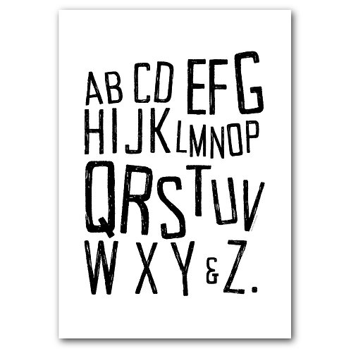 Alphabet song printable