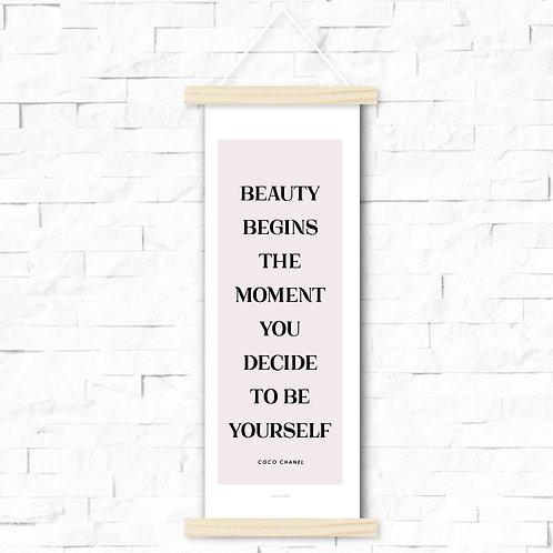 Beauty begins - skinny
