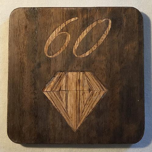 Diamond Anniversary Coaster