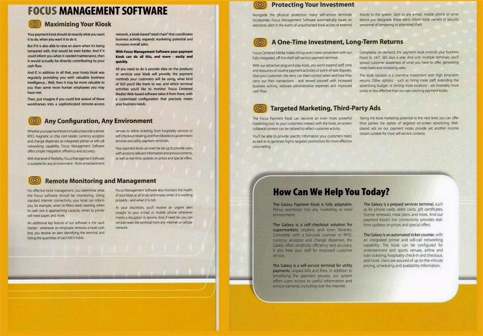 Focus brochure