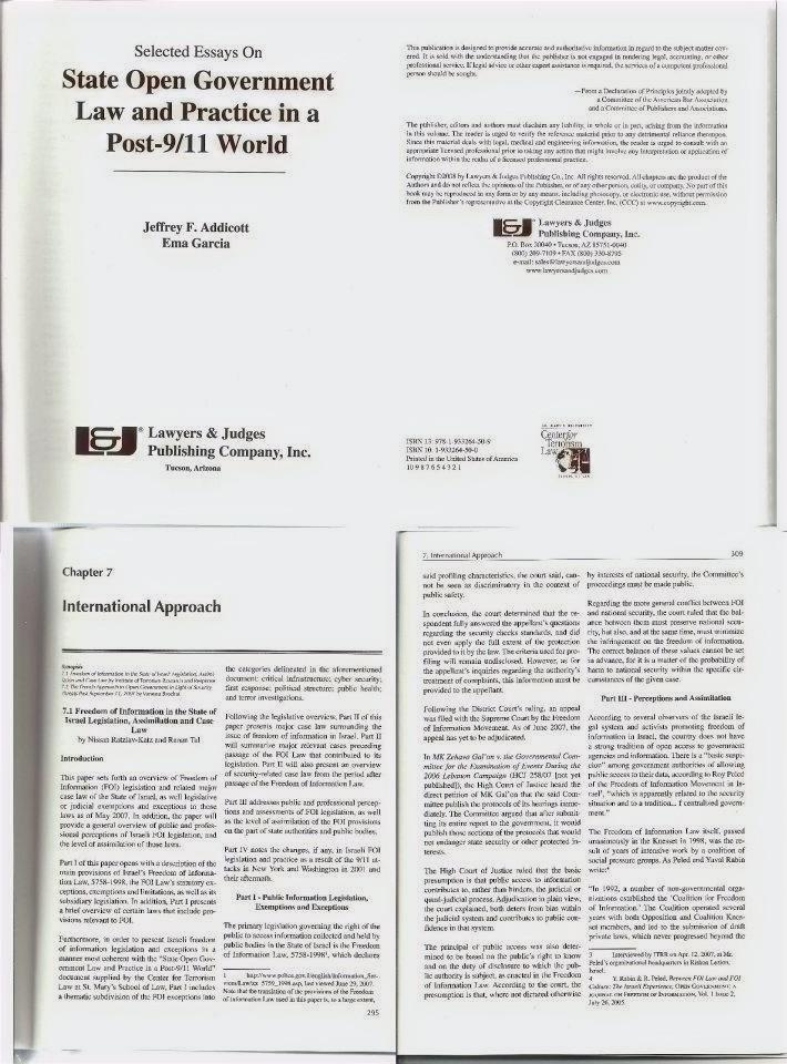FOI Lawbook Chapter