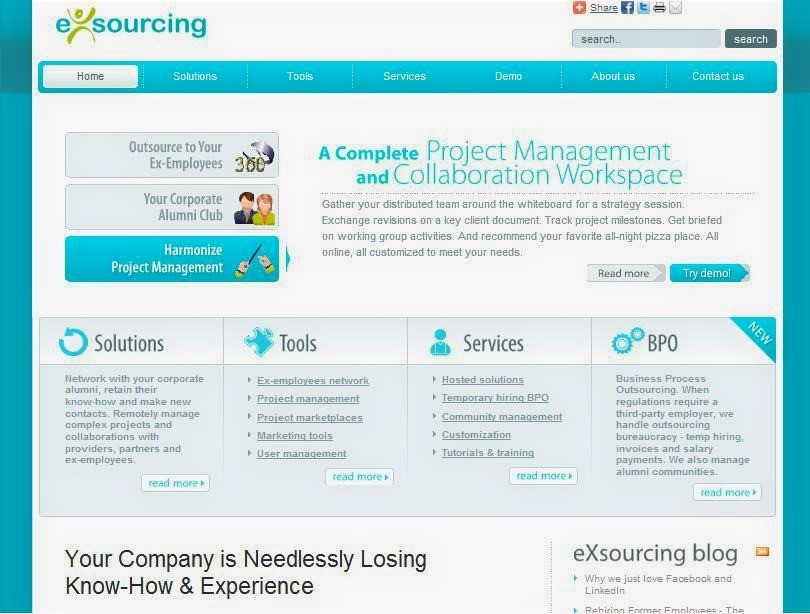 esourcing product page