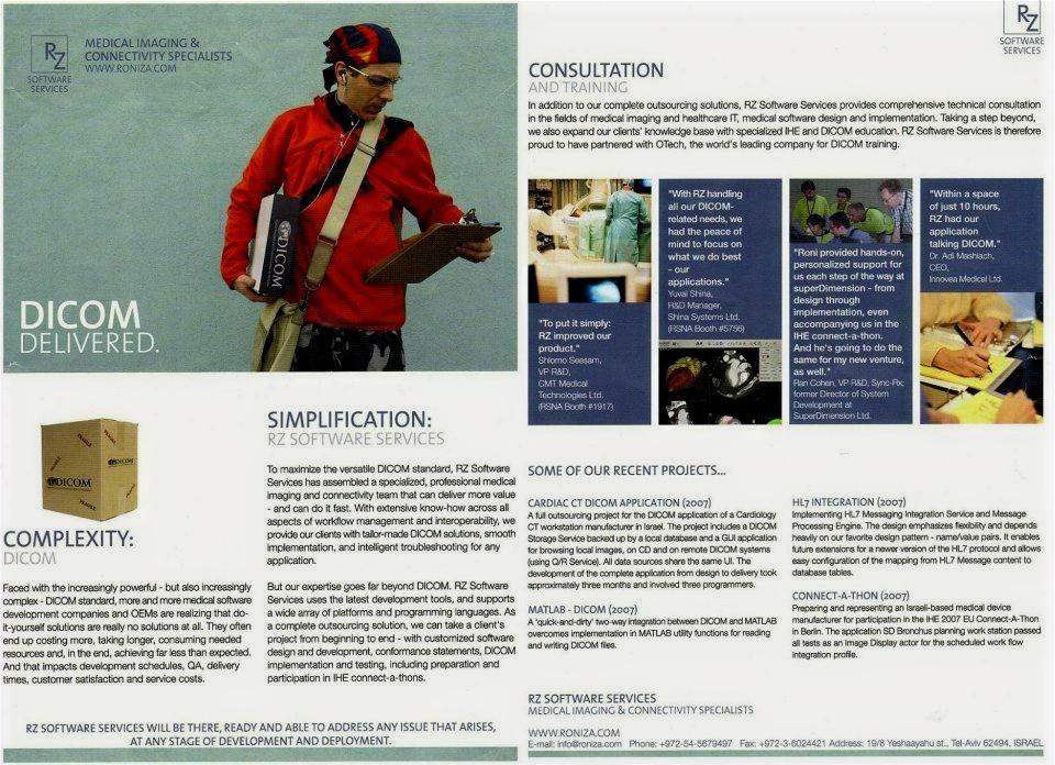 DICOM Delivered brochure