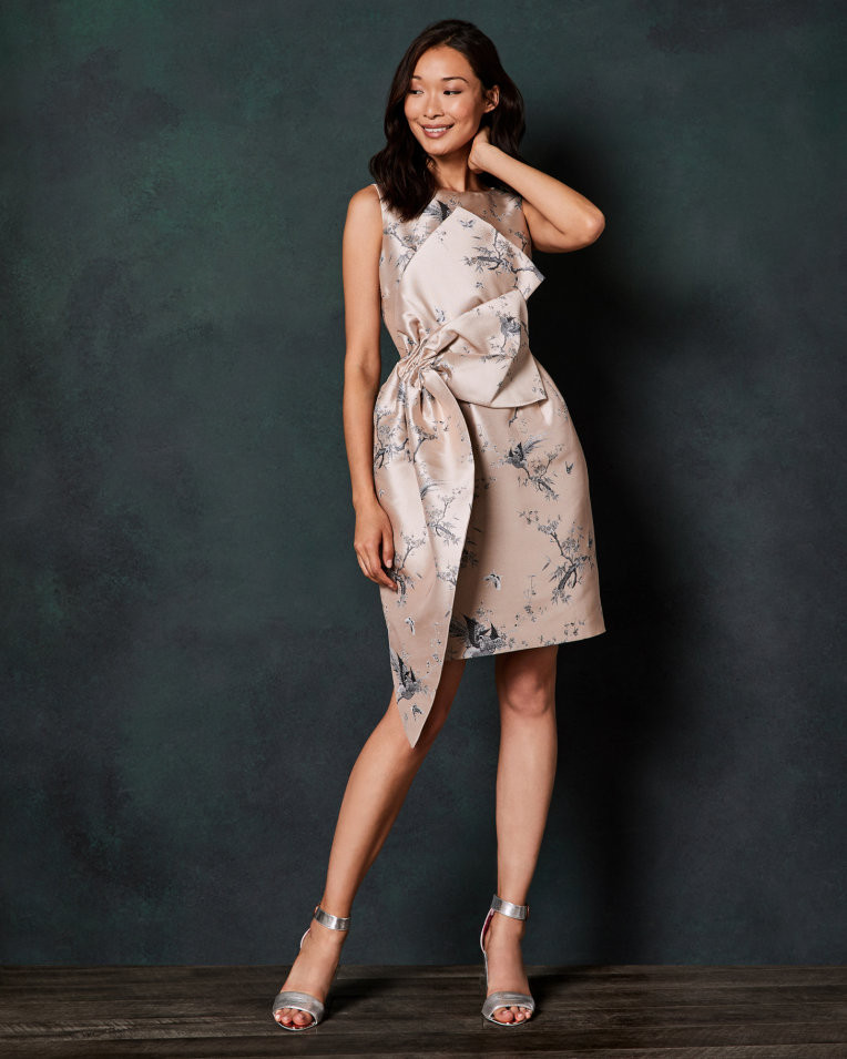 Ted Baker The Orient Tulip Bow Dress