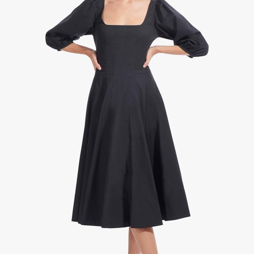 Staud Swells Dress in Black