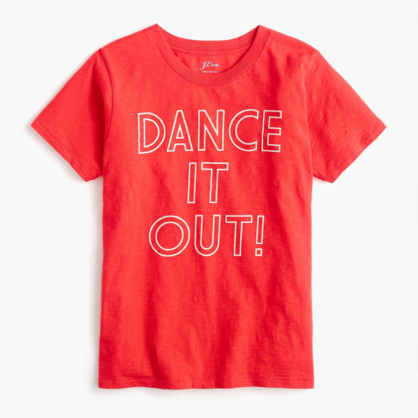 Dance it out tee by J.Crew
