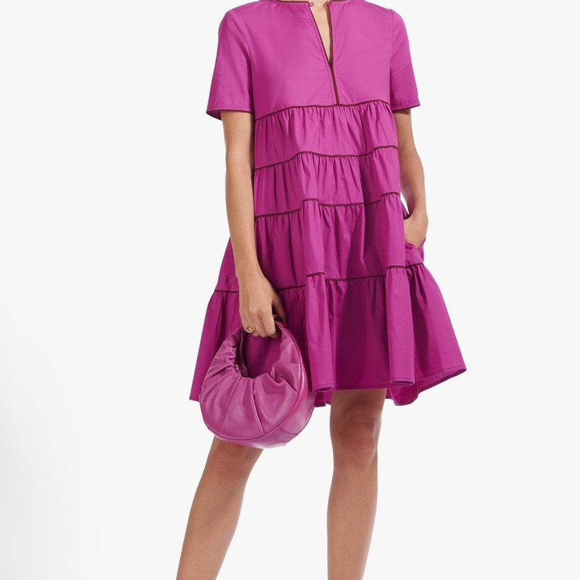 Staud Mini Cocoon Dress