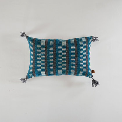 Teal - Tapestry Cushion