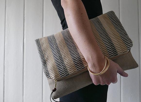 Node - Soft Gold  - Clutch Bag