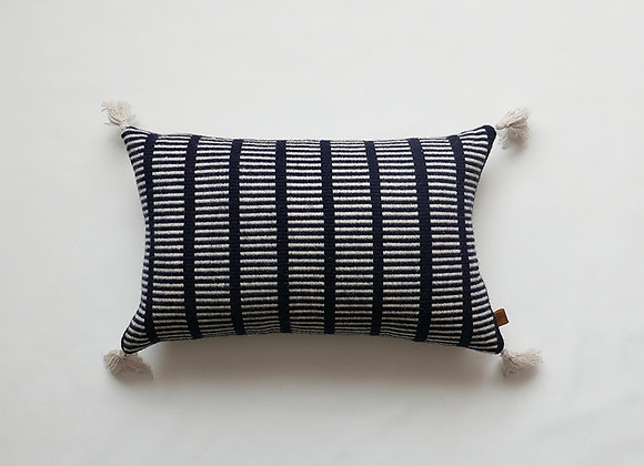 Indigo - Handwoven Cushion