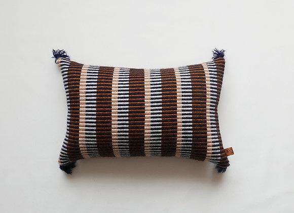 Rust Indigo - Tapestry Cushion