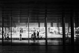 Gilles Lange - Autoportrait, anonymes et reflets