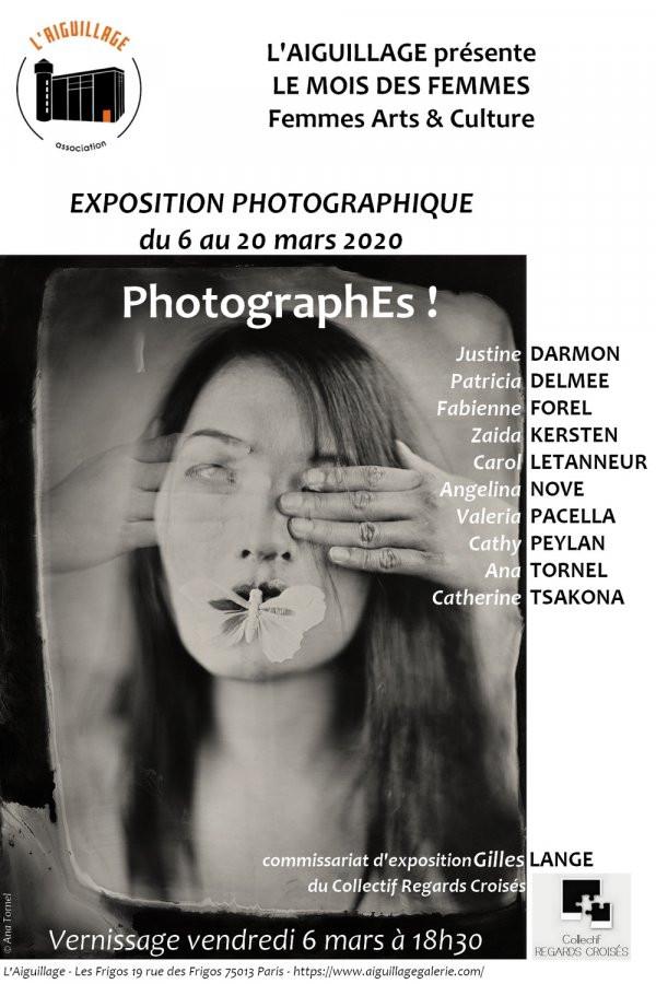 """Exposition """"PhotographEs!"""" à l'Aiguillage - Les Frigos"""