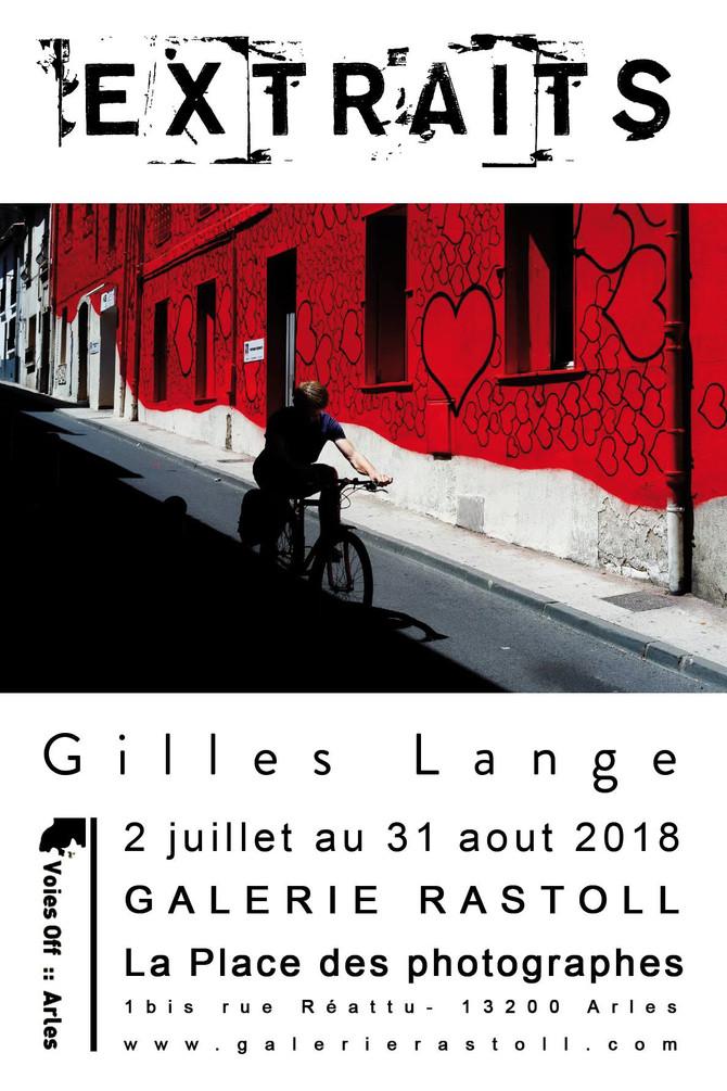"""Gilles Lange participe à l'exposition """"Extraits"""" de la galerie Rastoll à la Place des"""