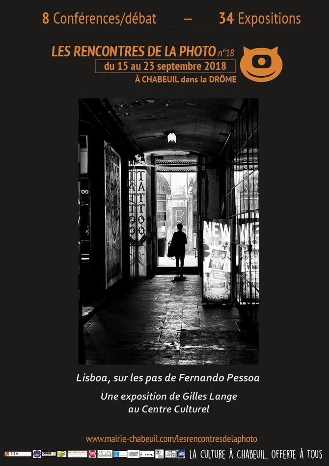 Gilles Lange aux Rencontres de la Photo de Chabeuil (Drôme)