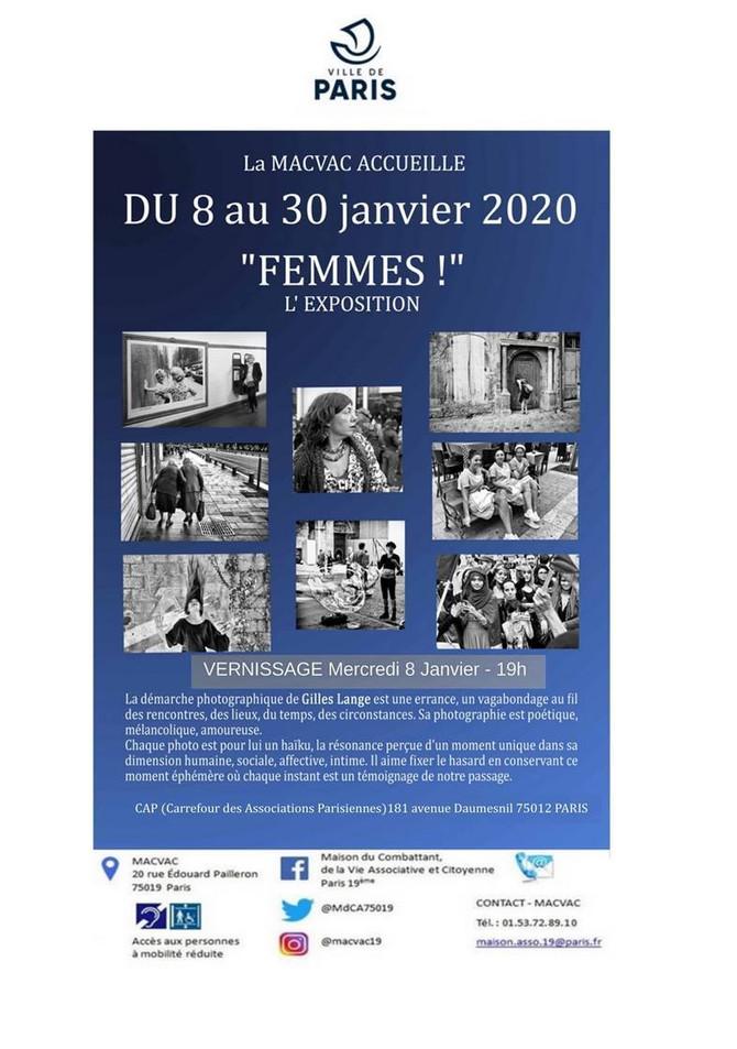 "Exposition ""Femmes!"" de Gilles Lange"