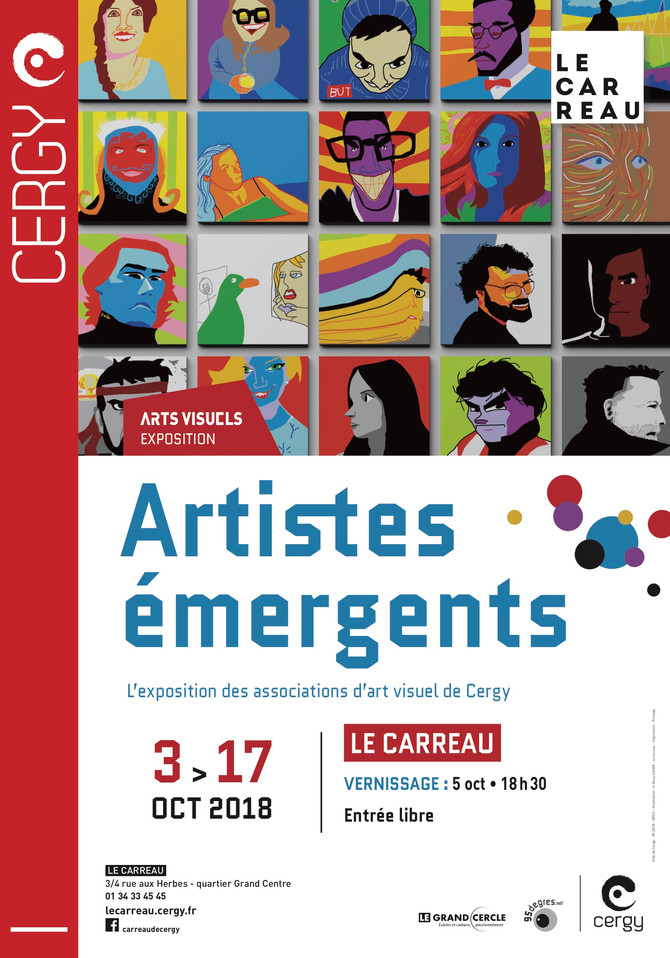 Artistes Émergents 2018 au Carreau de Cergy - Exposition de David Garnacho