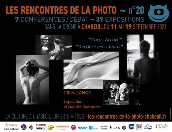 Exposition Gilles Lange aux 20ème Rencontres de La Photographie de Chabeuil