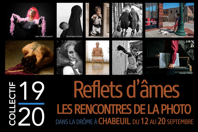 Exposition Reflets d'âmes avec la participation de Gilles Lange (MAJ : REPORTÉE À 2021)