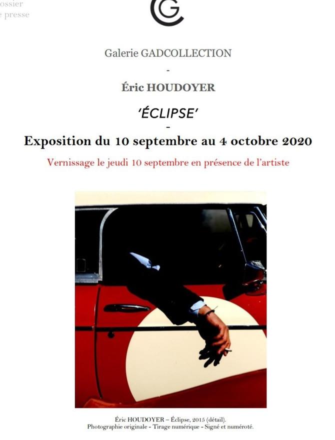 """Exposition """"Éclipse"""" d'Eric Houdoyer"""