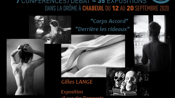 Exposition Gilles Lange aux 20ème Rencontres de La Photographie de Chabeuil (MAJ : REPORTÉE À 2021)
