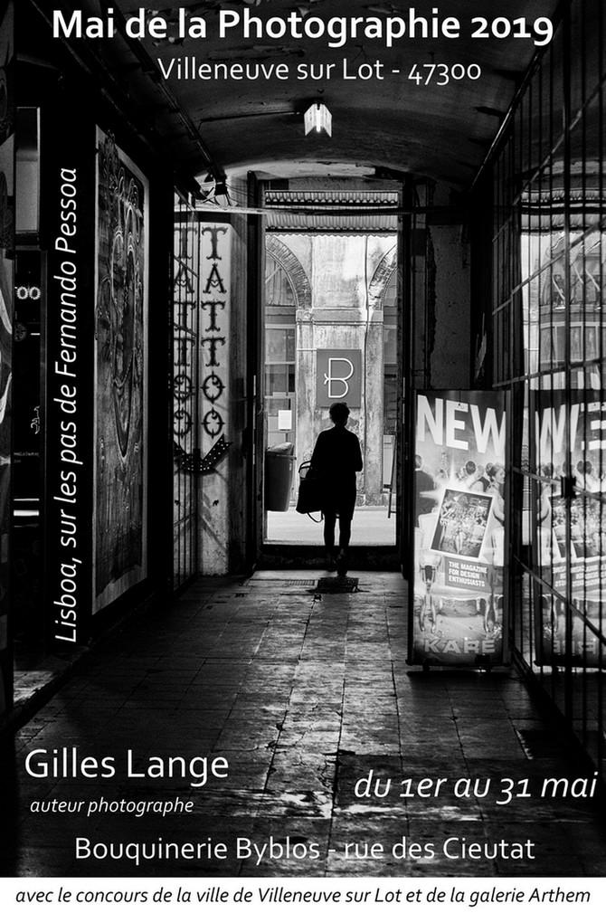 Exposition Lisboa, sur les pas de Fernando Pessoa de Gilles Lange