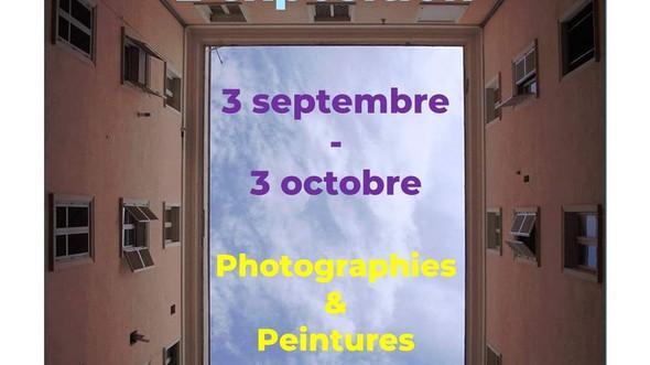 """Exposition """"L'art du confinement"""" avec la participation de Gilles Lange"""